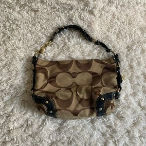 COACH Tan/Brown Hobo Bag